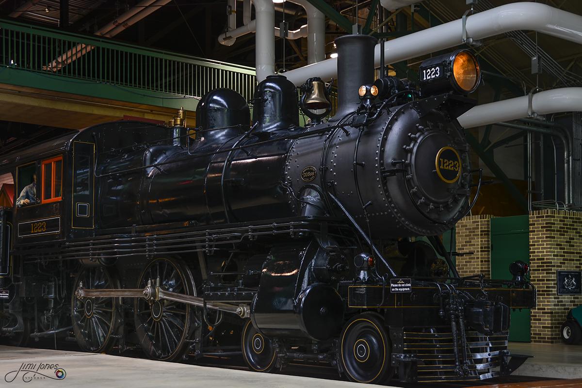 PRR 1223 - Historic Steam Locomotive