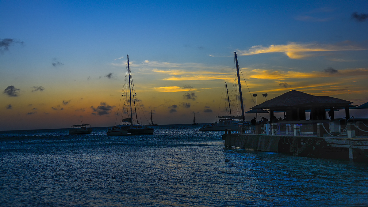 Blue Hour - Aruba
