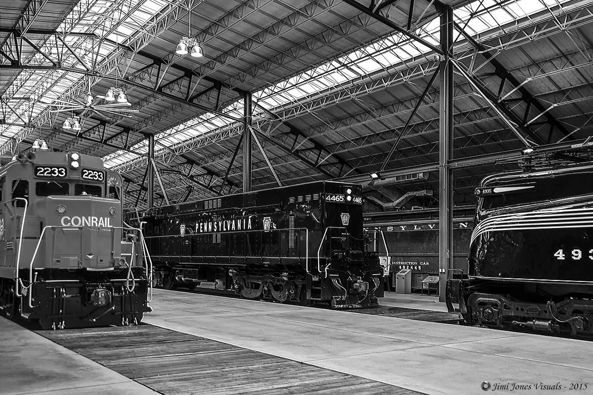 Inside the Pennsylvania Railroad Museum