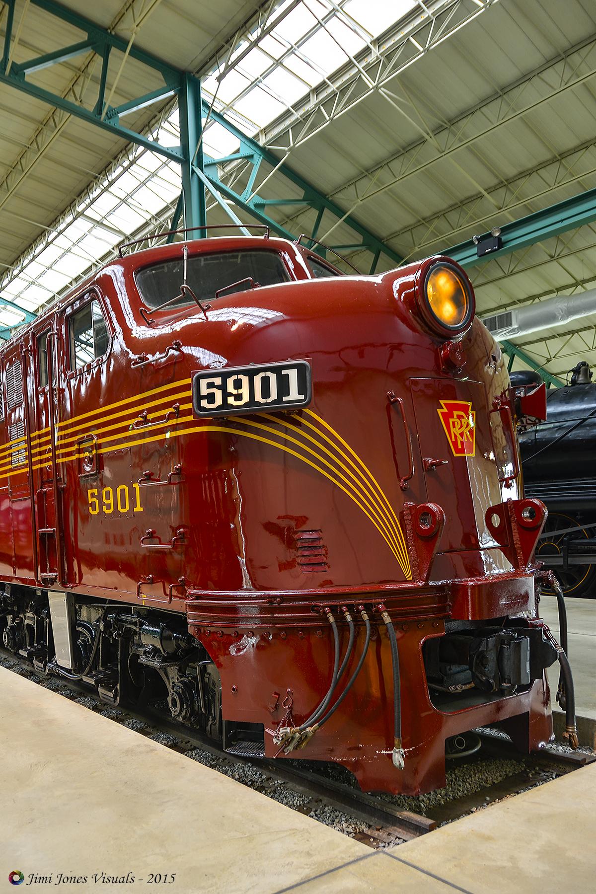 Pennsylvania Railroad 5901 - Front View