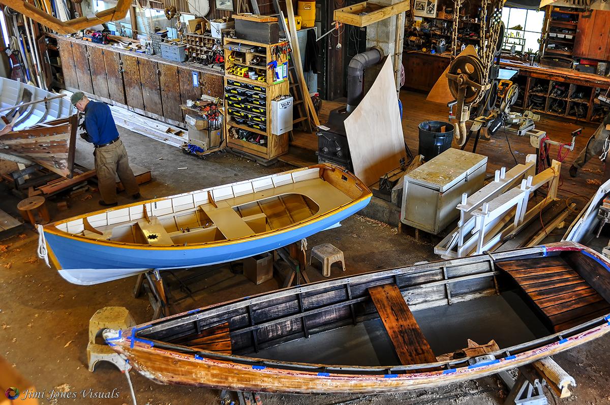 Boat Shop at CBMM