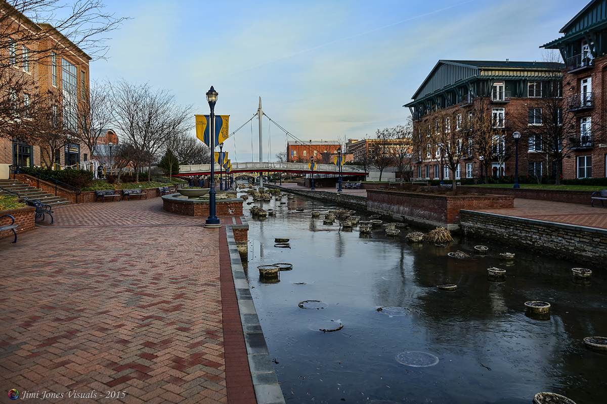 Frederick City Canal - Looking East