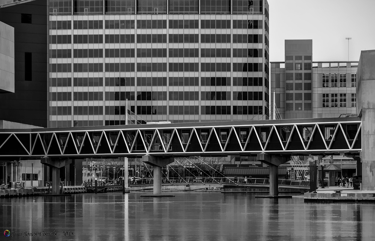 National Aquarium Footbridge - Baltimore Inner Harbor