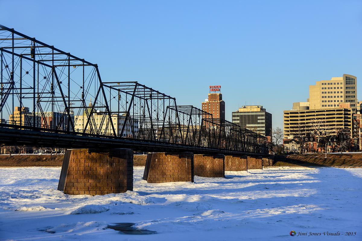 Walnut Street Bridge Harrisburg Pennsylvania