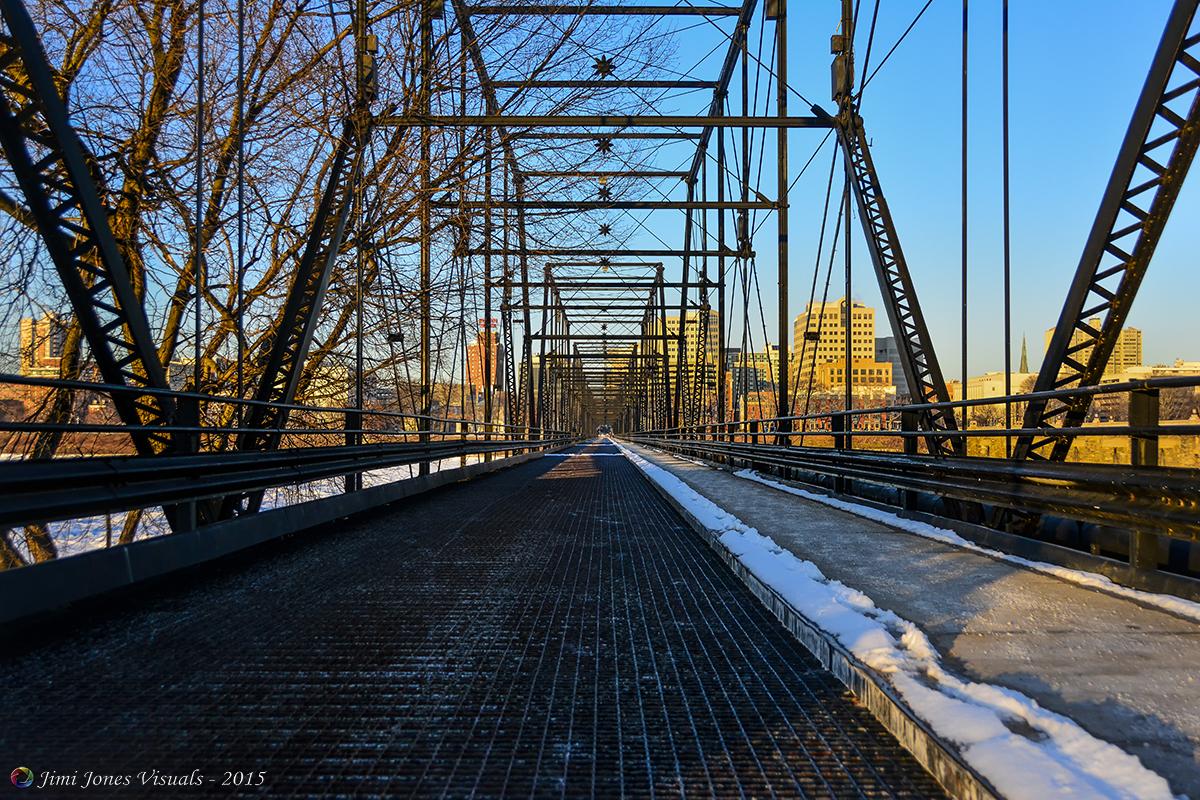 Walnut Street Pedestrian Bridge - Harrisburg PA