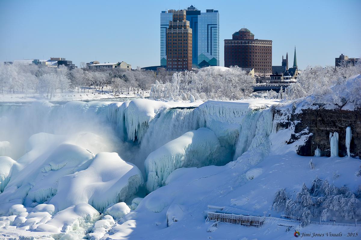 American Falls - Winter of 2015