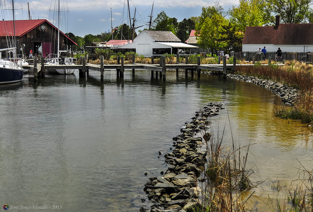 The Chesapeake Bay Maritime Museum on the Miles River