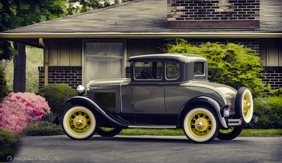 Vintage Era Car - Topaz BuzSim Desaturated