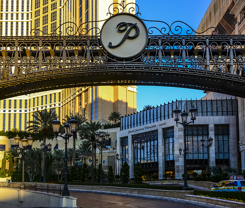 Gateway to the Palazzo in Las Vegas
