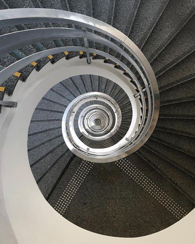 a never ending spiral