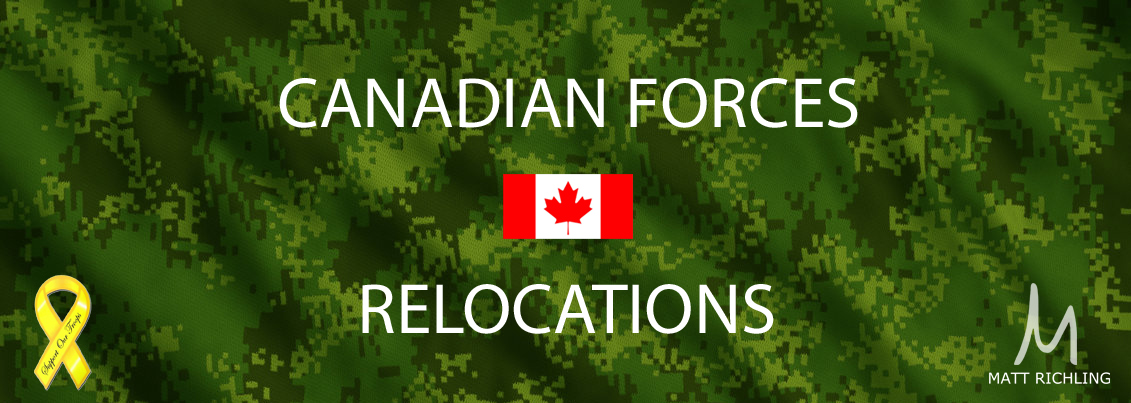 Canadian Military Relocations Ottawa Real Estate