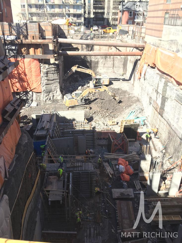 Bowery Condos Ottawa Construction