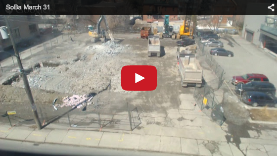 Soba Condos Ottawa Livestream Construction