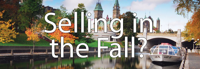Selling Ottawa Condo in the Fall