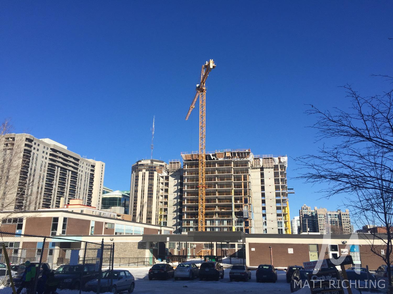 Bowery Condos Construction Ottawa