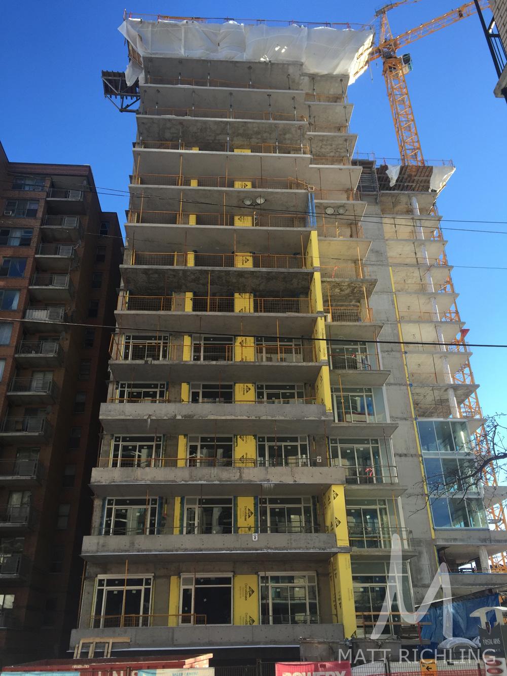 Bowery Condos Ottawa Construction Front