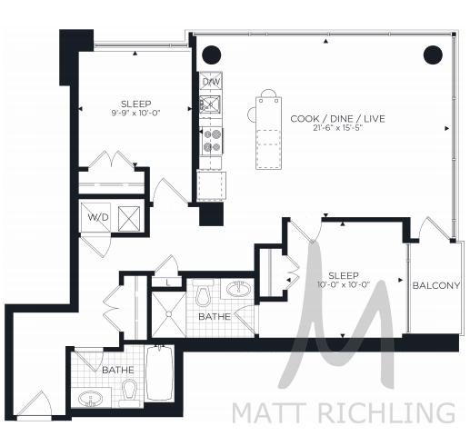 Fenton Floorplan Ottawa Condo Besserer