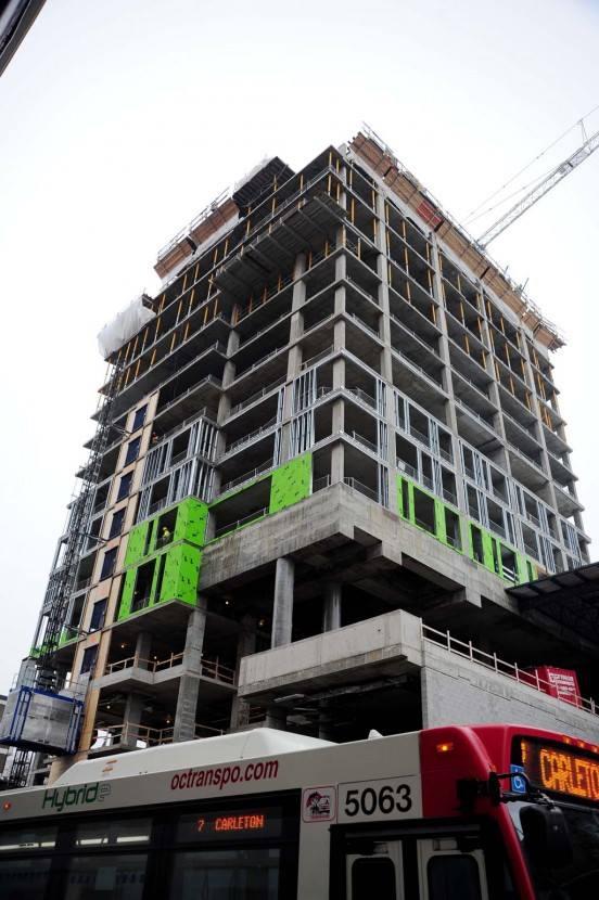 Arthaus Condos Ottawa Construction