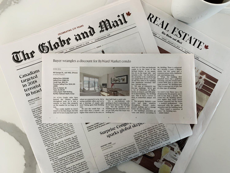 Globe and Mail - Byward Market Condo.jpeg