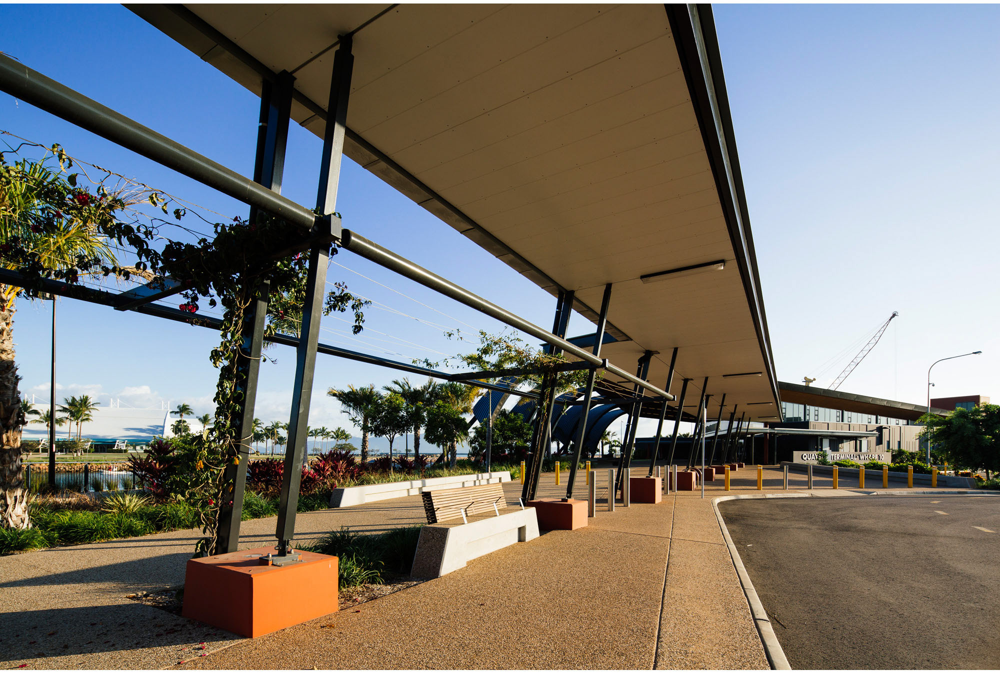 Quayside Cruise Ship Terminal in Townsville