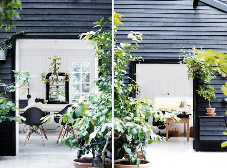 Beautiful Danish Summer House via  Nordic Design