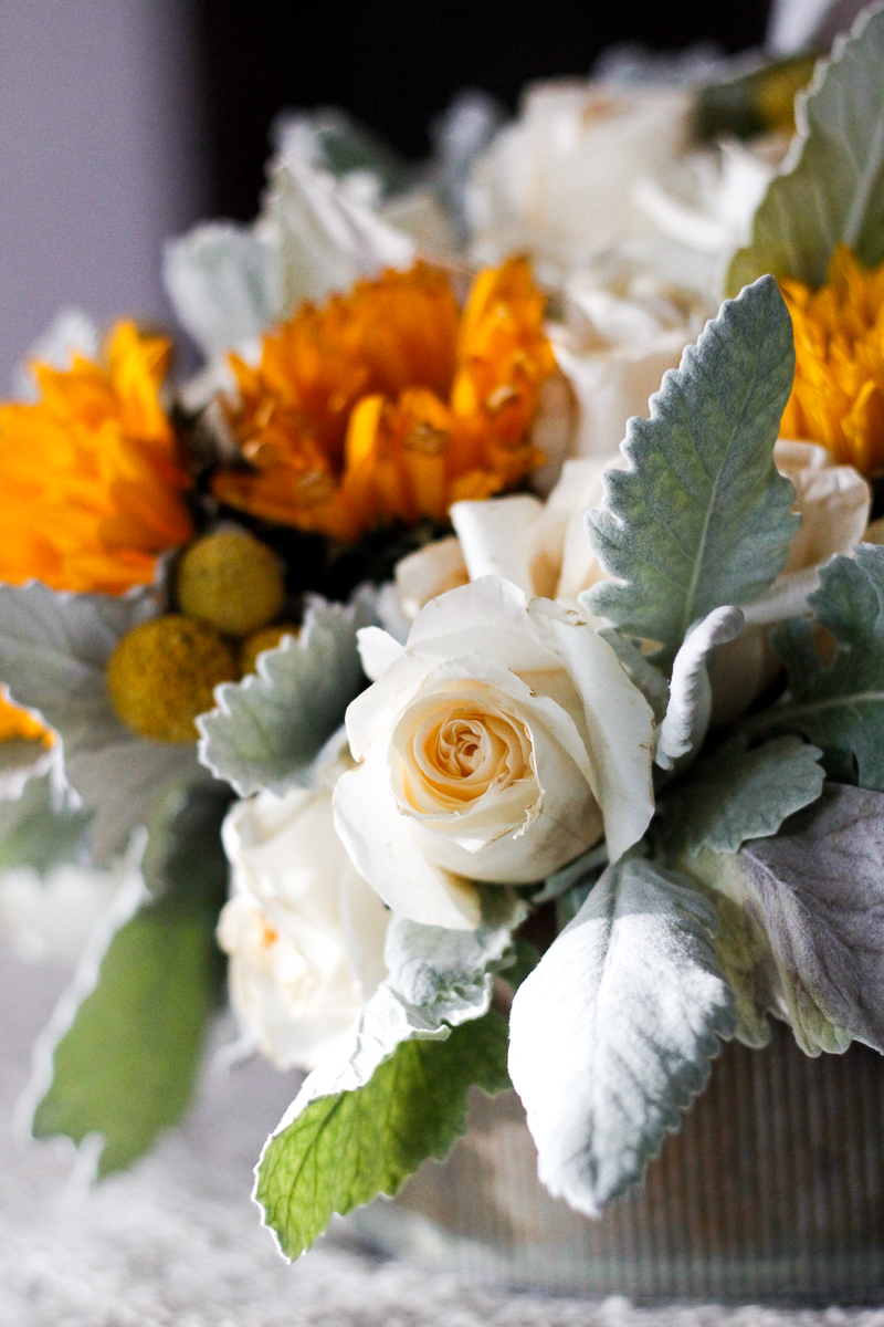 Sunflowers and Roses bouquet by Farm and Foundry