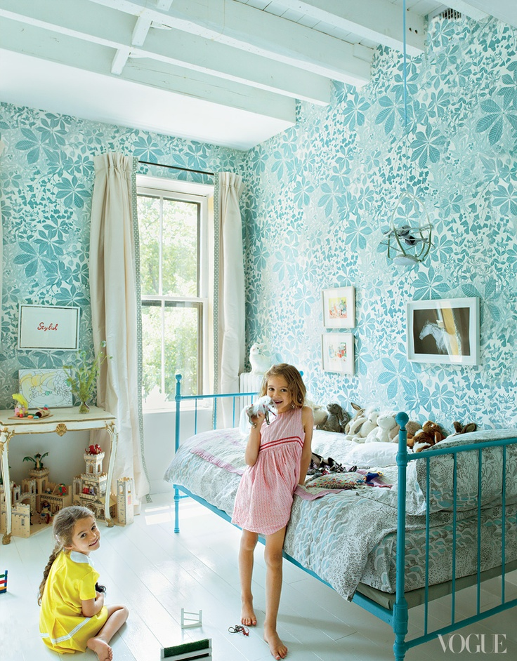 Marthe Armitage hand printed wallpaper designs