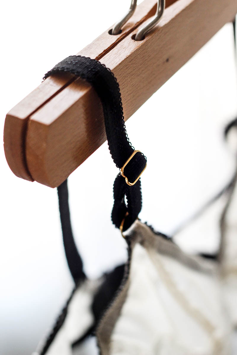 Strap detail of Watson Bra by Cloth Habit