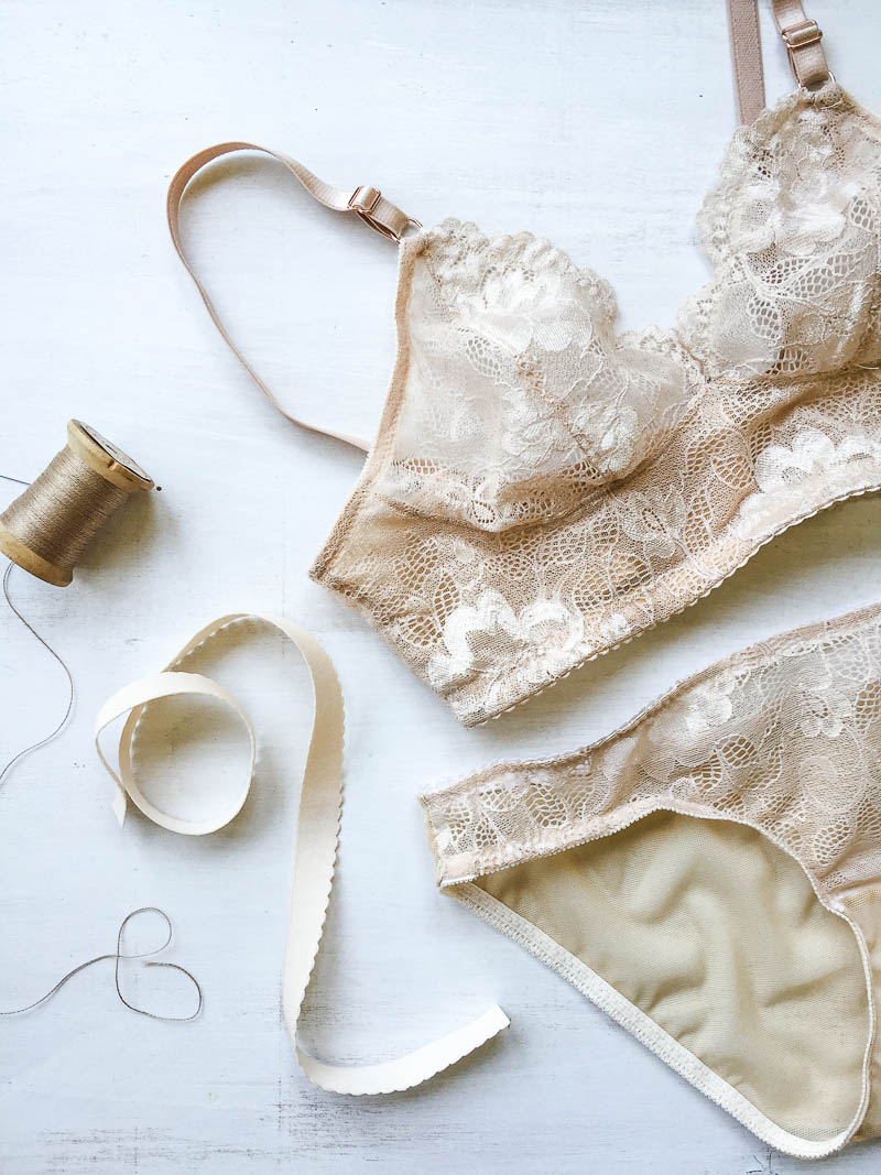 Watson Bra and Panty set in lace