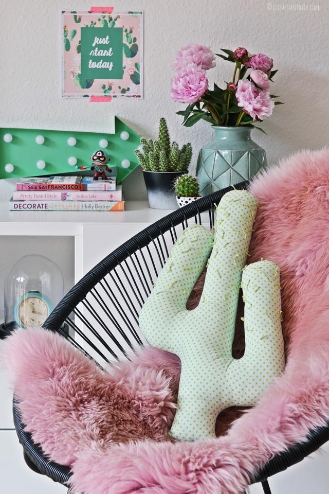 Cactus Pillow DIY Via Luzia Pimpinella