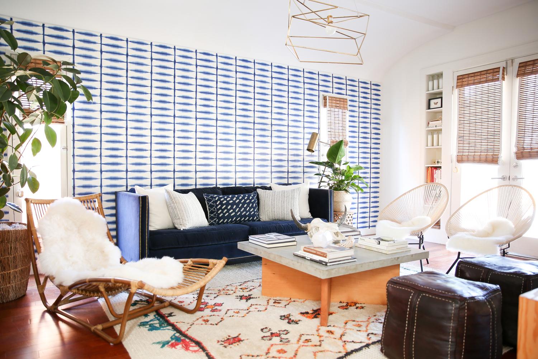 Venice Beach Living Room Via My Domaine