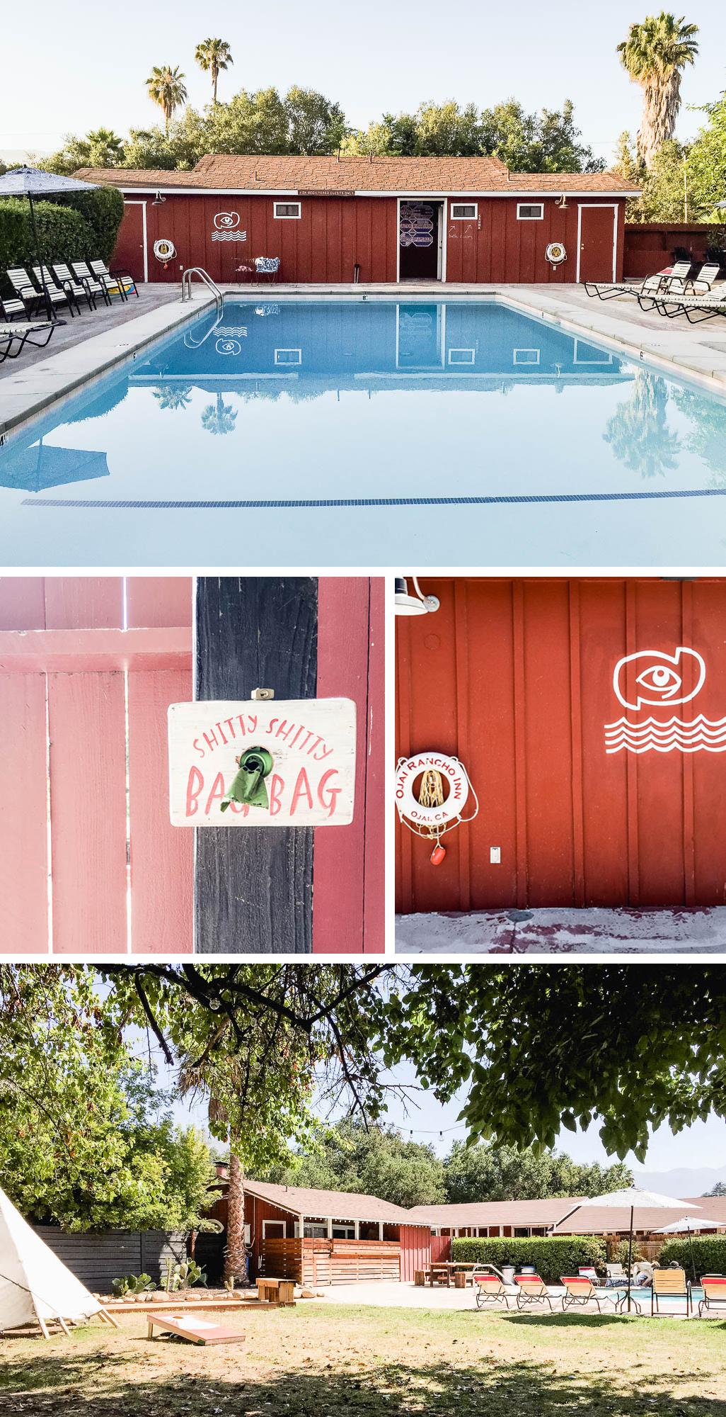 Ojai Rancho Inn Pool