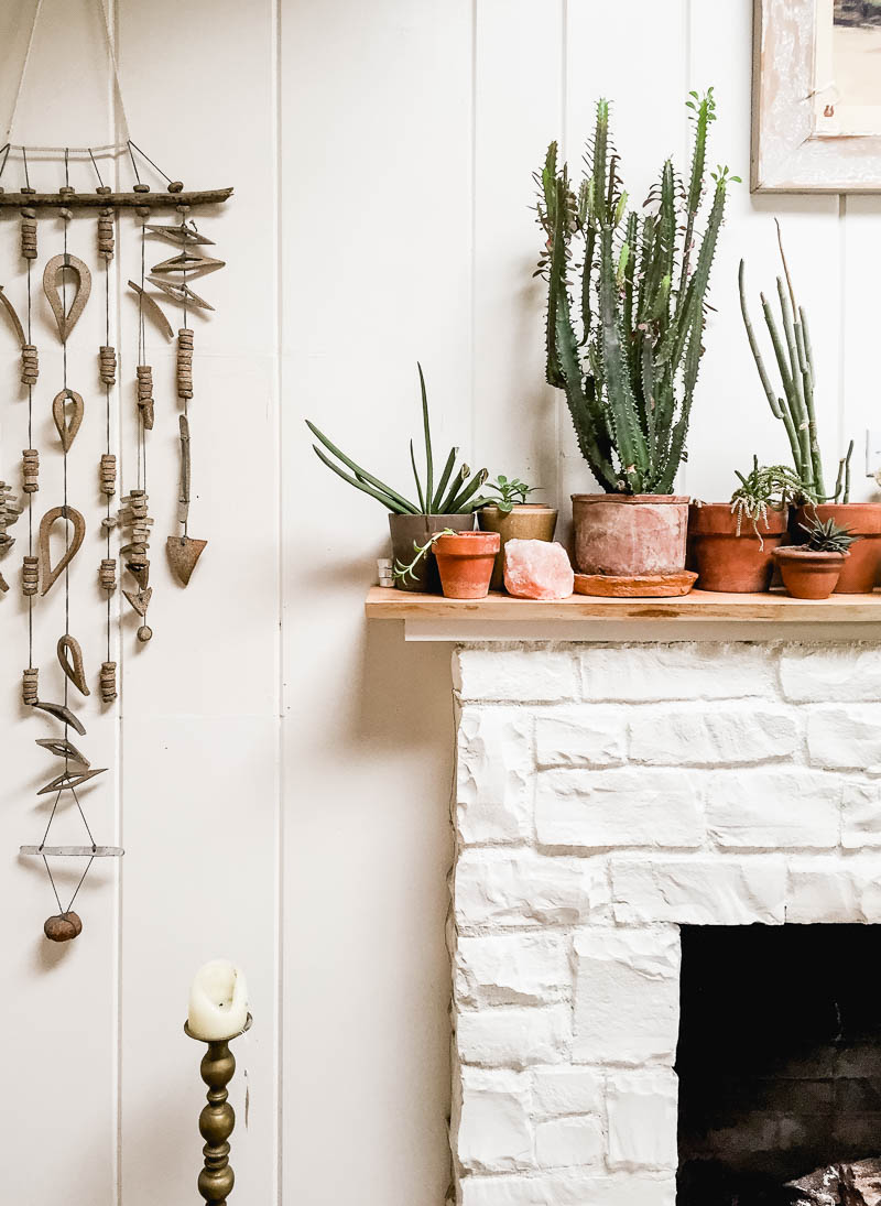 Ojai rancho inn fireplace