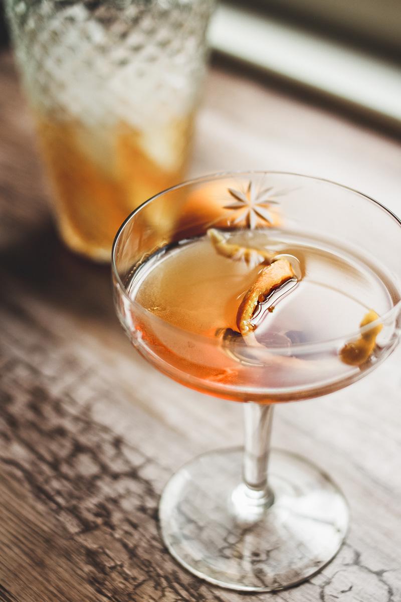 bourbon cocktail recipe shaker spoon