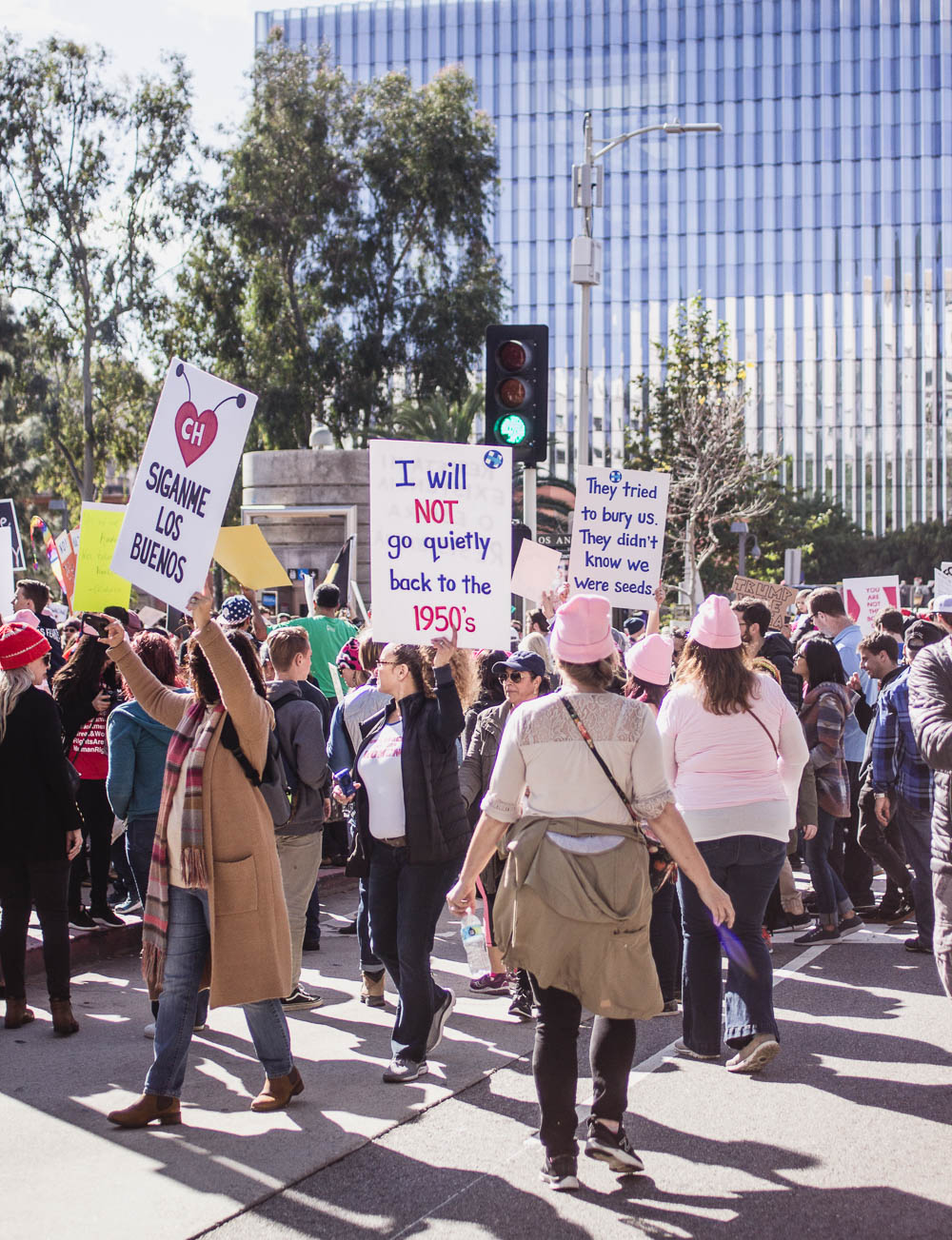 Los Angeles Womens march