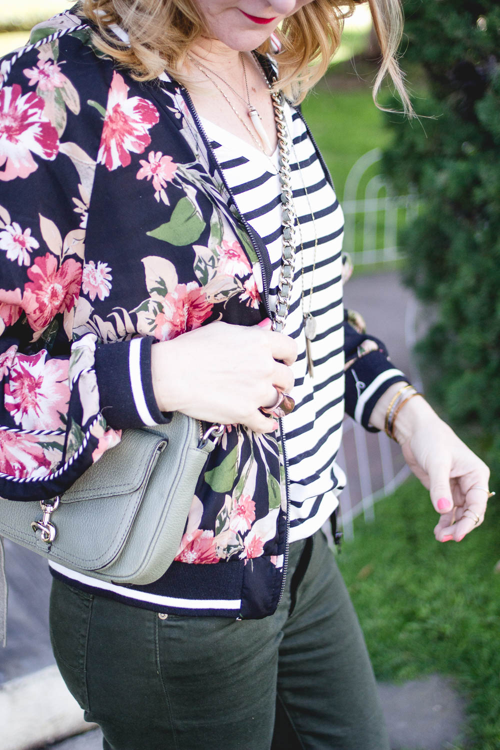 Florals and Stipes Target Style