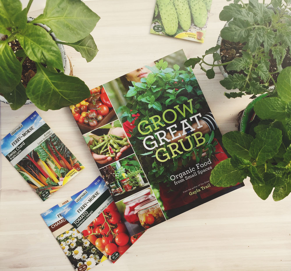 Grow Great Grub gardening book