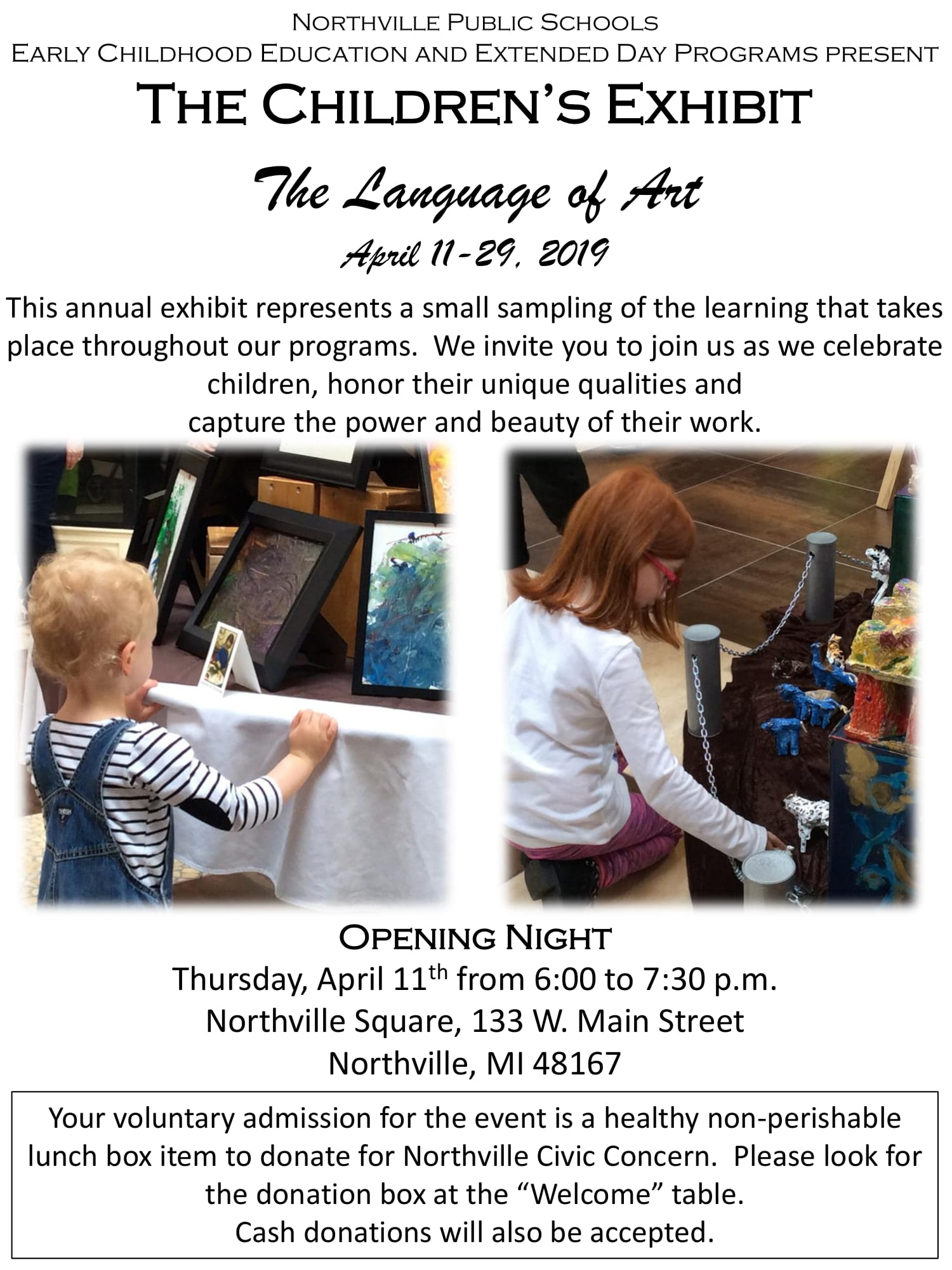 Upcoming Events — Northville Square