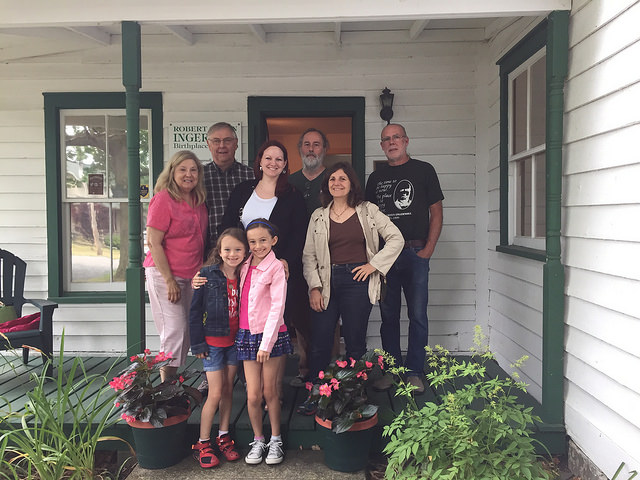 The CNY Humanists recently toured the Ingersoll Museum
