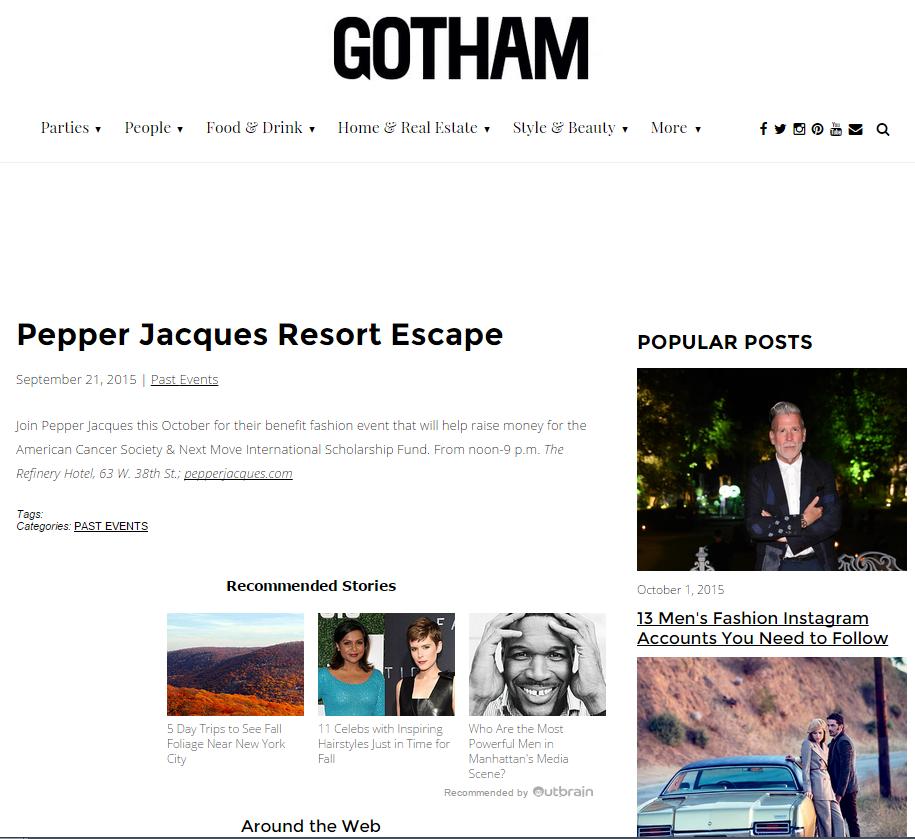 Gotham Magzine