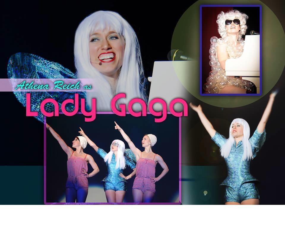 Lady Gaga Impersonator Athena Reich