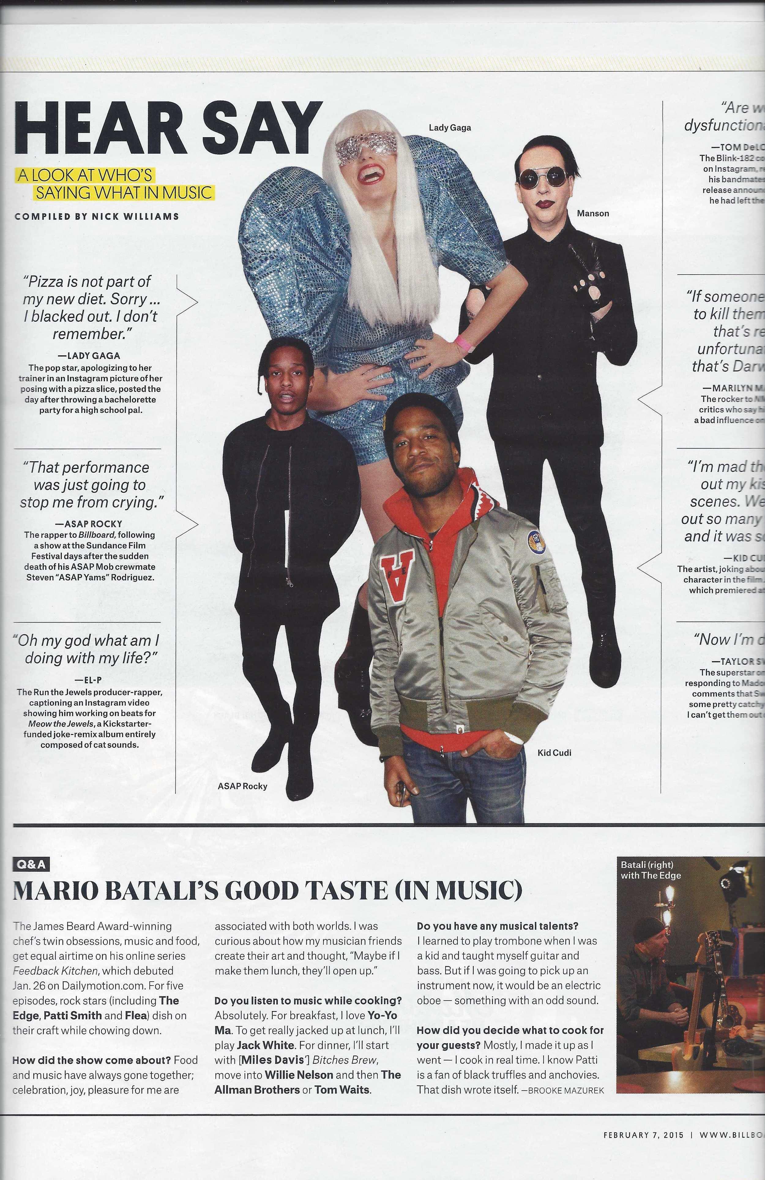 Billboard Magazine mistakes Athena for Gaga