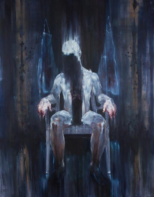 "Francis Butcher. 2012. Oil. 48""x 60"""