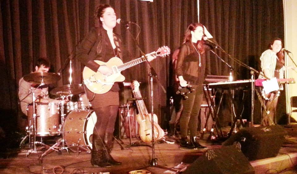 Chic Gamine in concert at the SPEC Centre