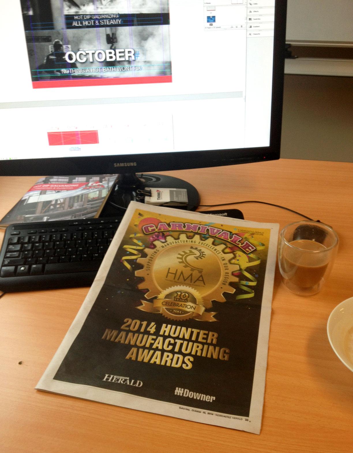 2014 Hunter Manufacturing Awards