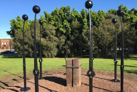 BHP Memorial sculpture