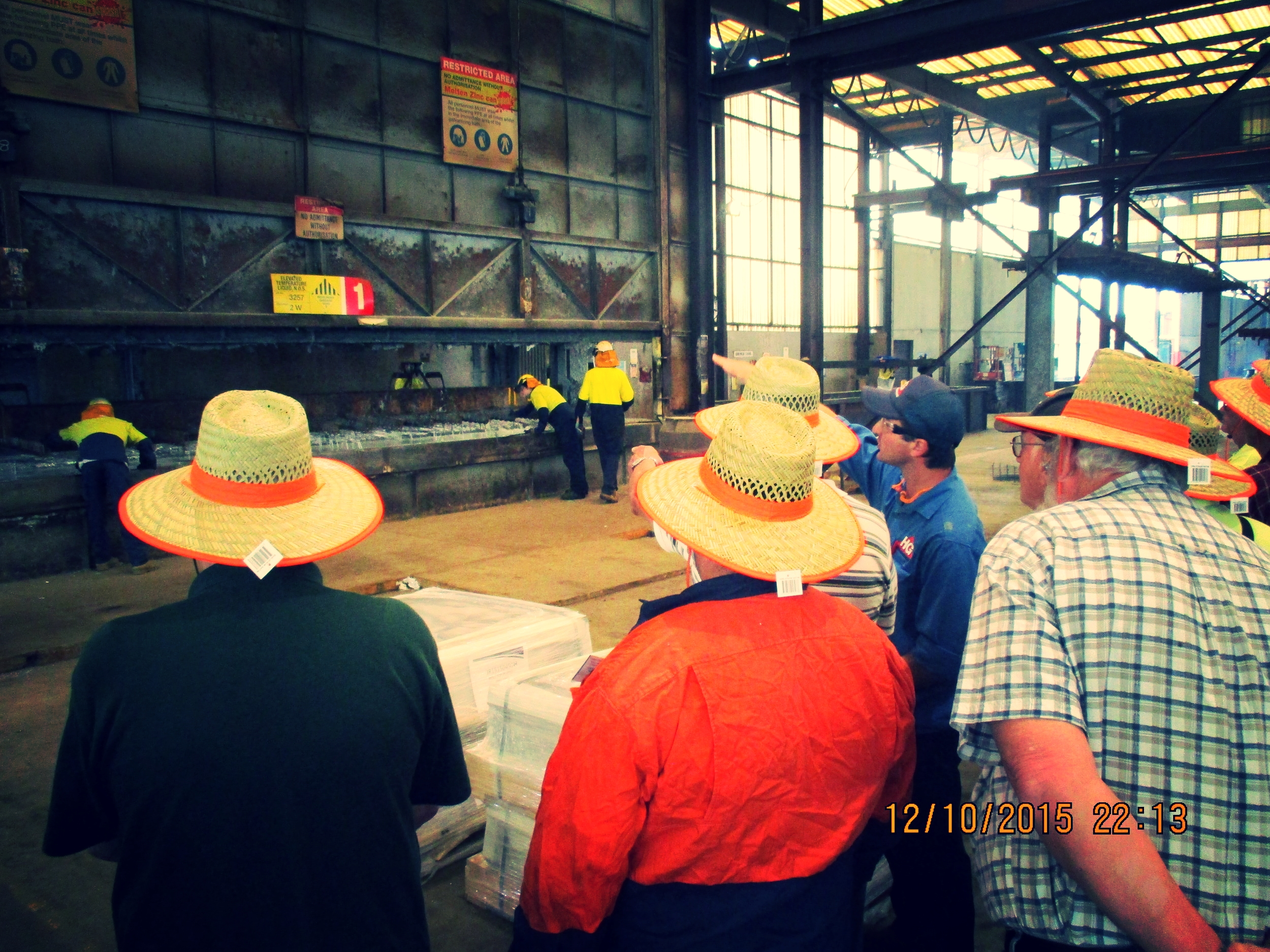 Raymond Terrace Men's Shed at the dipping stage.JPG