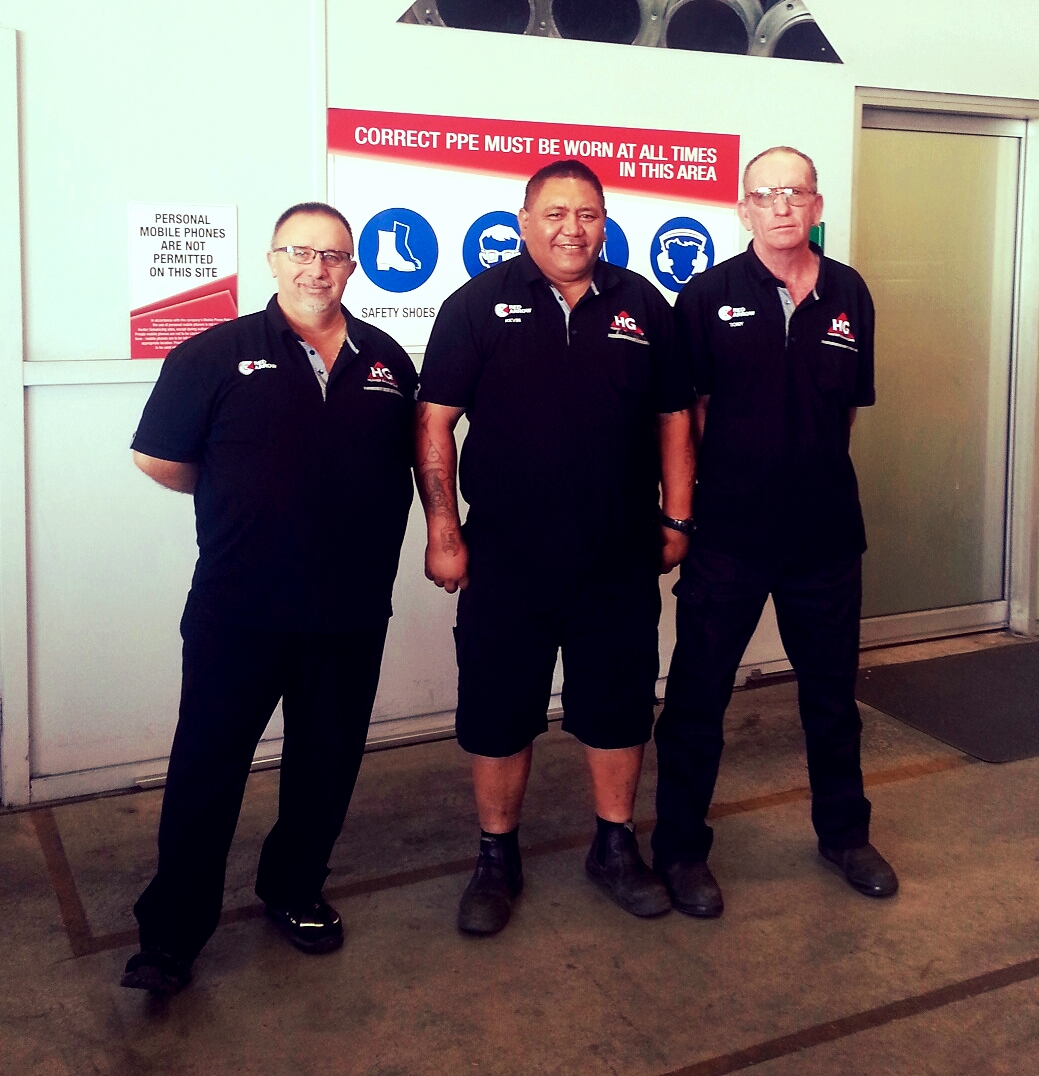 Hunter Galvanizing new uniforms Sydney