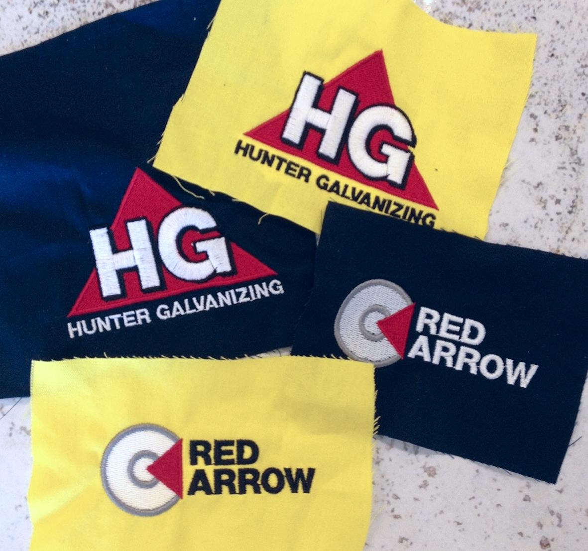 Hunter Galvanizing new uniforms logos
