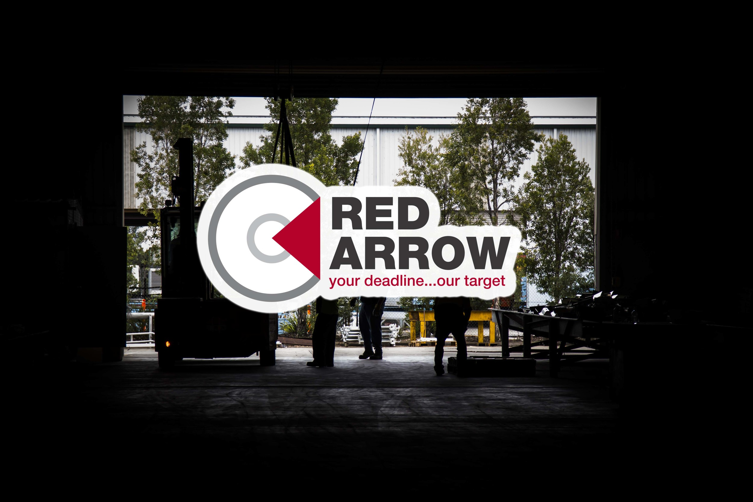 Red Arrow - Your deadline...our target